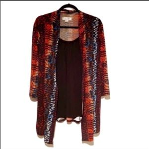 14/16) Top & Cami in one!!! Fits 14-16...like NEW!